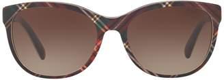 Ralph Lauren Tartan Butterfly Sunglasses