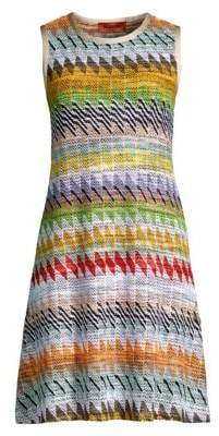 Missoni Rombi Knit A-Line Dress