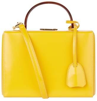 Mark Cross Small Patent Grace Box Bag