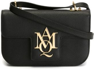Alexander McQueen Insignia satchel $1,195 thestylecure.com