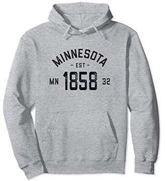 Vintage Minnesota Hoodie Sweatshirt - Minnesota Gifts