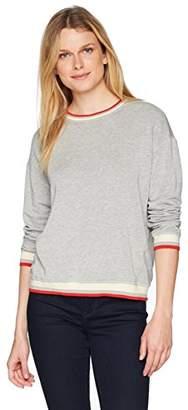 Velvet by Graham & Spencer Women's Beatrice Ringer Sweatshirt