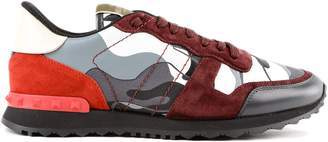 Valentino Camo Print Sneakers