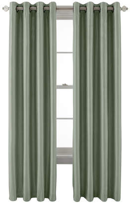 Royal Velvet Plaza Grommet-Top Lined Blackout Curtain Panel