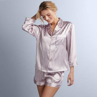 Apt. 9 Women's Satin Shirt & Shorts Pajama Set