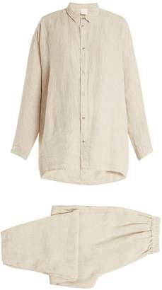 ONCE MILANO X Toogood linen pyjamas