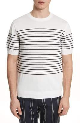 TOMORROWLAND Tricot Stripe T-Shirt