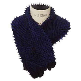 Issey Miyake Black Viscose Scarves