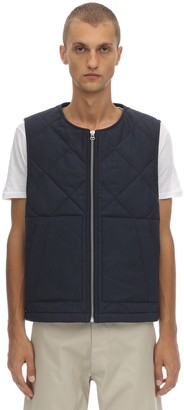 Jacquemus Quilted Wool Zip-up Vest