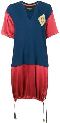 Mr & Mrs Italy colour-block long T-shirt