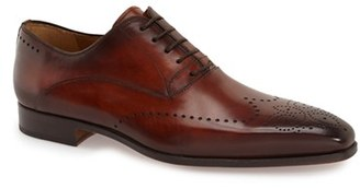 Men's Magnanni 'Agusto' Wingtip $395 thestylecure.com