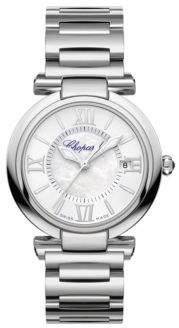 Chopard Imperiale Mother-Of-Pearl& Stainless Steel Bracelet Watch