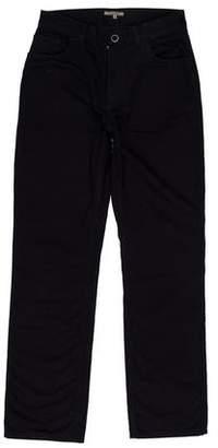 Bottega Veneta Flat Front Twill Pants