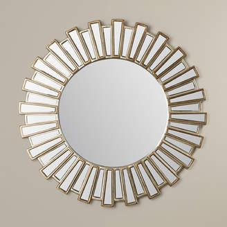 Willa Arlo Interiors Bertrand Sunburst Resin Accent Wall Mirror