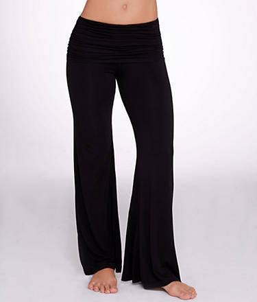Hard Tail Ruched Yoga Knit Pants