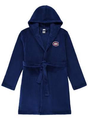 NHL Women'leep Robe | Montreal Canadien Fleece Bathrobeize