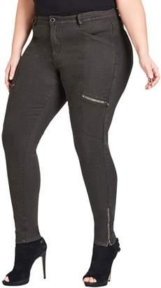City Chic Cargo Classic Pants