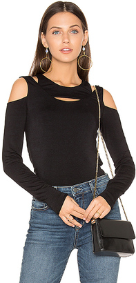 Bailey 44 You Ougtha Know Top in Black $148 thestylecure.com