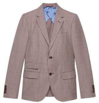 Gucci New Signoria houndstooth jacket