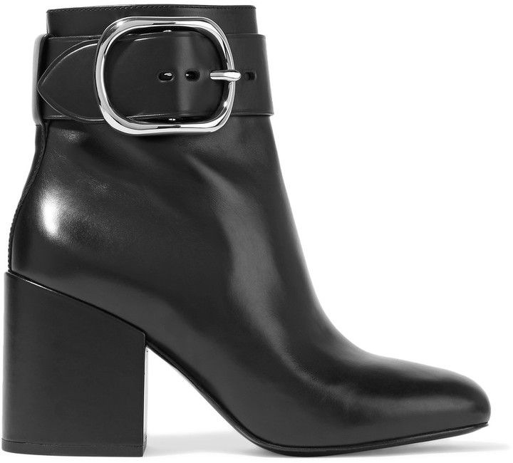 Alexander WangAlexander Wang Kenze buckled leather ankle boots