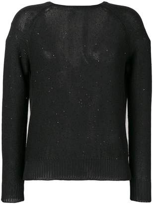 Peserico sequin detailed jumper