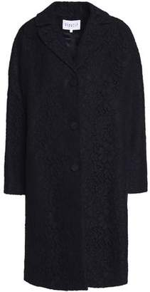 Claudie Pierlot Cotton-Blend Corded Lace Coat