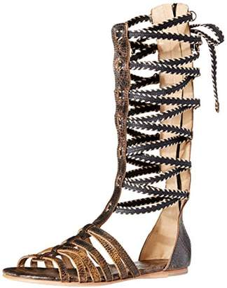 c76a0c489f1 Australia Luxe Collective Women s Marcos Lace Up Gladiator Sandal
