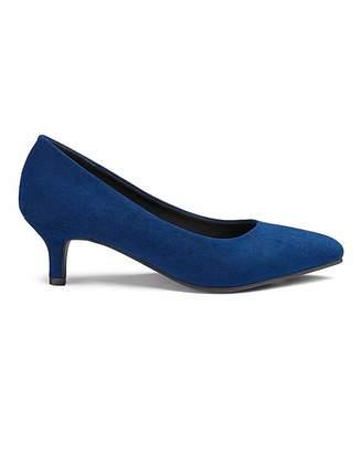ddf2e57ae15 Jd Williams Flexi Sole Kitten Heel Court Shoes D Fit