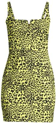 LIKELY Constance Leopard Print Sheath Dress