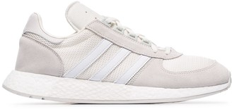 adidas white never made Marathon X5923 suede sneakers