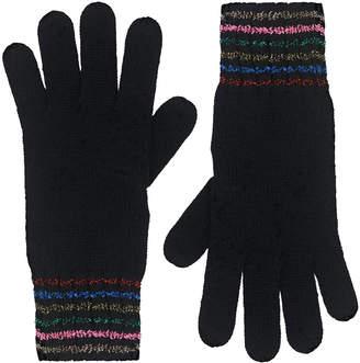 Cath Kidston Lurex Stripe Gloves