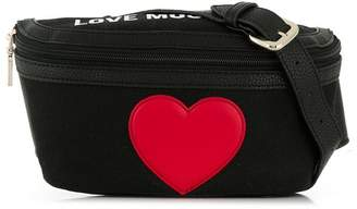 Love Moschino contrast logo belt bag