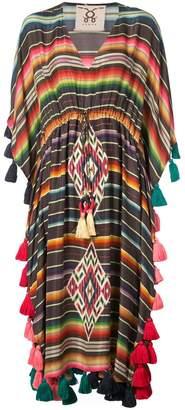 Figue Amrita striped tassel kaftan
