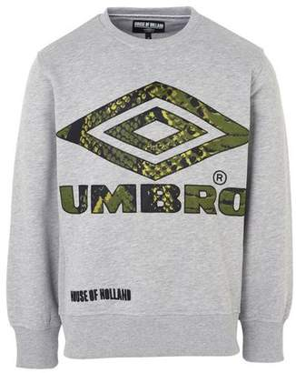 House of Holland UMBRO x SNAKE APPLIQUE SWEATSHIRT Sweatshirt