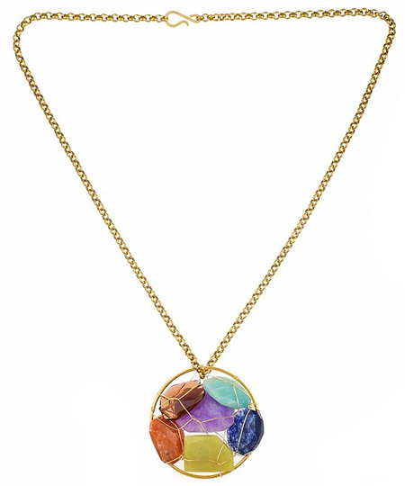 Nugaard Designs Gem Cluster Necklace