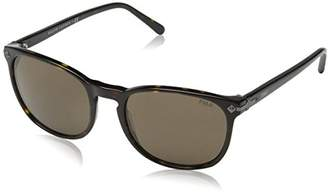 Polo Ralph Lauren Men''s 0Ph4107 500373 53 Sunglasses, (Havana/Brown)