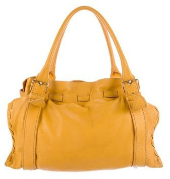 Miu Miu Miu Miu Gained Leather Shoulder Bag