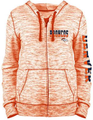 5th & Ocean Women's Denver Broncos Space Dye Full-Zip Hoodie