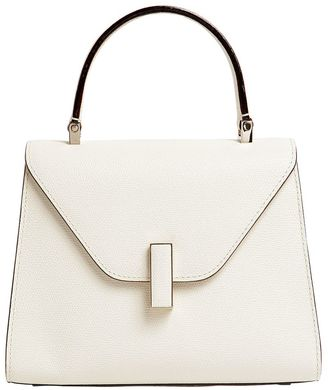 Mini Iside Leather Top Handle Bag $2,350 thestylecure.com