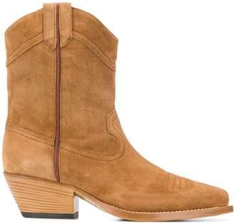 Vic Matié western suede boots