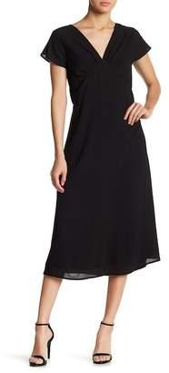 Gilli V-Neck Midi Dress