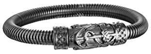 Police Men Stainless Steel Charm Bracelet - PJ25924BSB.01-L