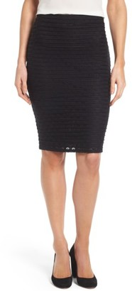 Women's Cece Jacquard Knit Pencil Skirt $69 thestylecure.com
