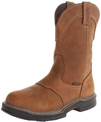 "Wolverine Men's 10"" Anthem Multishox Waterproof EH Well Boots W02288 Size 9.5M"