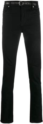 RtA belted skinny jeans
