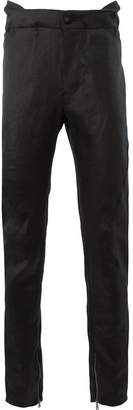 Cedric Jacquemyn high waist slim trousers
