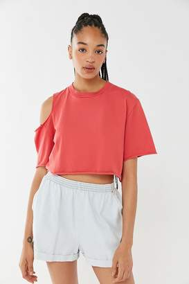 Truly Madly Deeply Luna Cutout Cropped Top