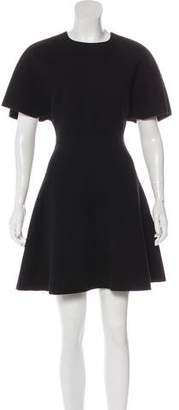 Giambattista Valli Short Sleeve Mini Dress