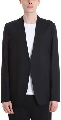 Maison Margiela Black Cotton Blazer