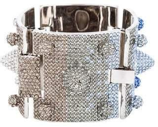 Eddie Borgo Ombre Crystal Cone Bracelet